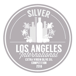 Los Angeles International Extra Virgin Olive oil Competition – Plata 2017/2018