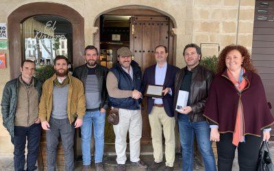 Reconocimiento de Casa del Águila al equipo IADA Ingenieros